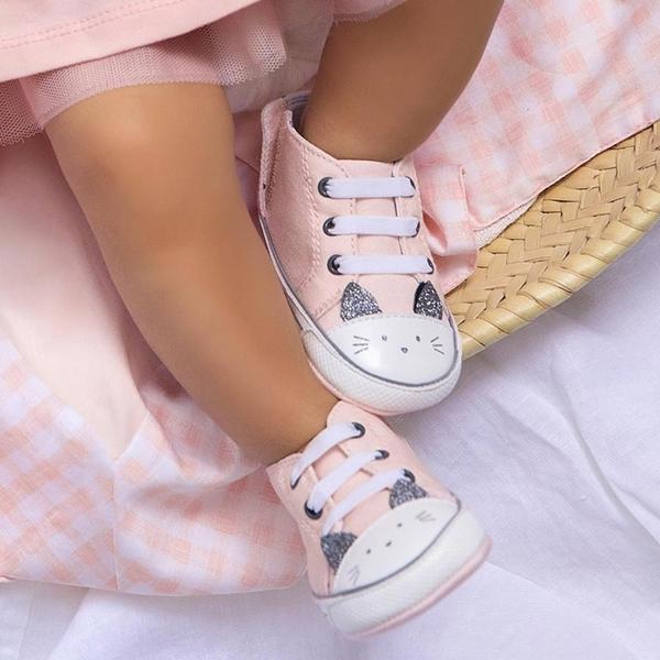 Mayoral Παπούτσι Αθλητικό Για Νεογέννητο Κορίτσι, Ροζ