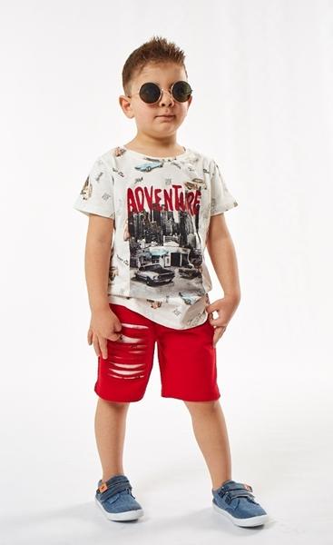 Hashtag Παιδικό Μακώ Σετ Adventure Για Αγόρι, Κόκκινο