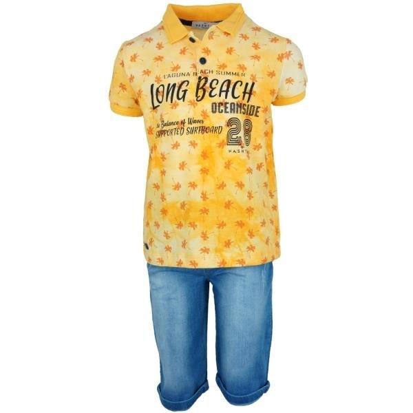 Hashtag Παιδικό Σετ Long Beach Για Αγόρι, Κίτρινο
