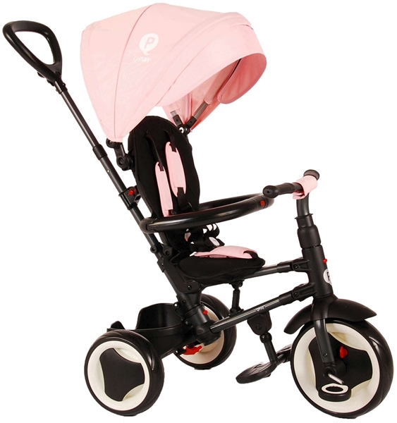 Q-Play Τρίκυκλο Ποδηλατάκι Rito, Pink