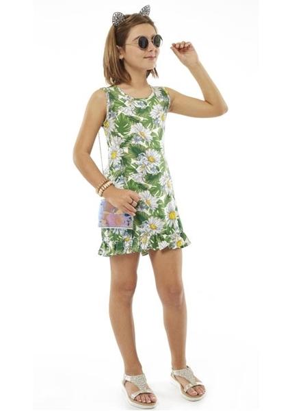 Εβίτα Fashion Σετ Φόρεμα Με Τσάντα, Εμπριμέ