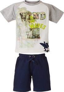 Energiers Παιδικό Σετ Βερμούδα Μακώ και Κοντομάνικη Μπλούζα Για Αγόρι, Μπλέ