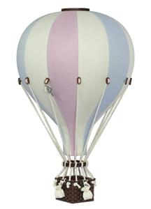 SuperBalloon Διακοσμητικό Αερόστατο Pastel Pink Blue Large