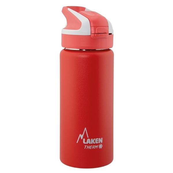 Laken Θερμός Inox 0.5L Red - Pink