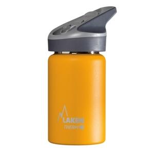 Laken Θερμός Inox 350ml με Καλαμάκι Tritan Κίτρινο