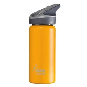 Laken Θερμός Inox 0.5L με Καλαμάκι Tritan Κίτρινο