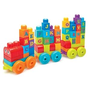 Picture of Fisher Price - Mega Bloks Εκπαιδευτικό Τρενάκι ABC 60 pcs