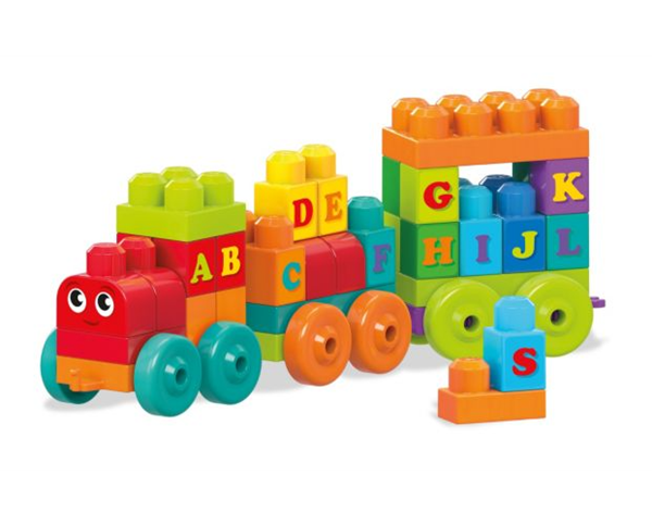 Picture of Fisher Price - Mega Bloks Εκπαιδευτικό Τρενάκι ABC 60 pcs