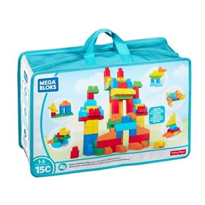 Picture of Fisher Price - Mega Bloks Deluxe Builders Bag 150 pcs