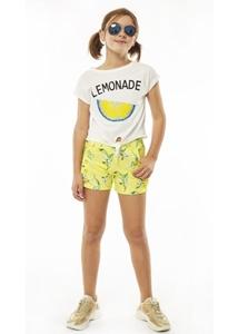 Εβίτα Fashion Σετ Σορτς Lemonade, Λευκό