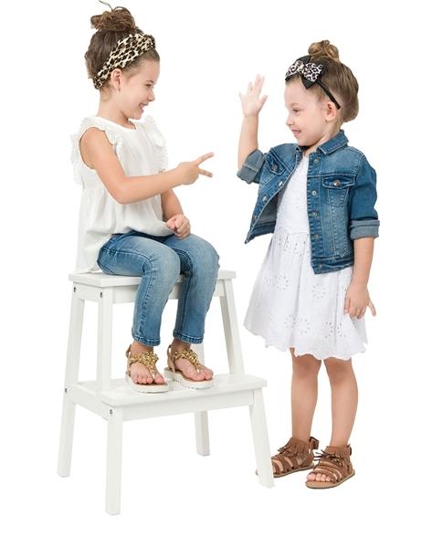 Energiers Παιδικό Τοπ Με Βολάν Στα Μανίκια, Λευκό