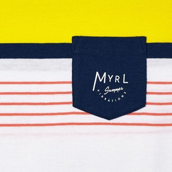 Mayoral Παιδική Μπλούζα Για Αγόρι Με Ρίγες, Κοραλί