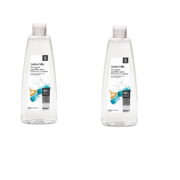 Suavinex Υγρό Καθαριστικό για Βρεφικά Σκεύη 2x500ml