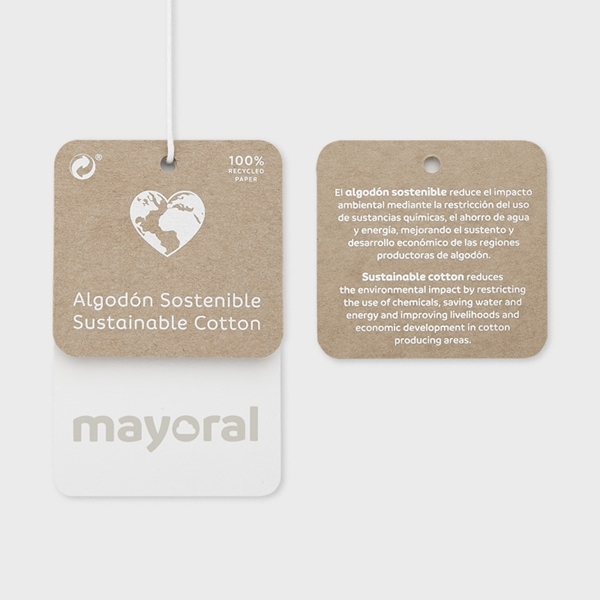Mayoral Παιδικό Σετ Κάπρι Και Μπλούζα Φλαμίνγκο, Λευκό