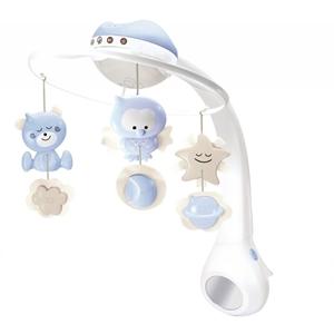 Infantino Μουσικό Περιστρεφόμενο με Προτζέκτορα 3 σε 1 Blue