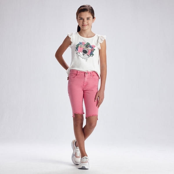 Mayoral Καπαρντινέ Ποδηλατικό Για Κορίτσια, Ροζ