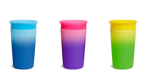 Munchkin Κύπελο Miracle 360° Color Changing Cup Pink 296ml.