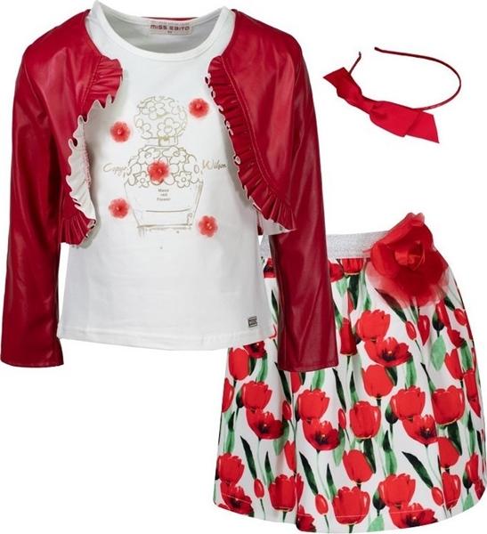 Εβίτα Fashion Σετ 3τμχ Τουλίπες, Κόκκινο