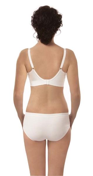 Carriwell Σουτιέν Θηλασμού Οργανικό Χωρίς Ραφές Black Medium
