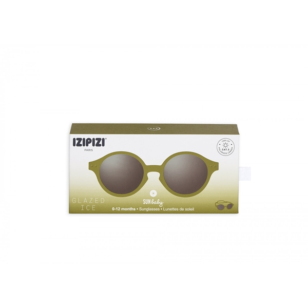 IZIPIZI Γυαλιά Ηλίου Sun Baby 0-12M Olive Green
