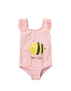 Zippy Bebe Ολόσωμο Μαγιώ Μελισσούλα, Ροζ