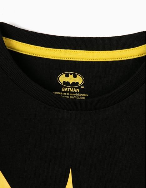 Zippy Παιδική Κοντομάνικη Μπλούζα Batman, Μαύρη