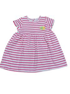 Zippy Bebe Φόρεμα Για Κορίτσι Ψαράκι Ριγέ, Ροζ