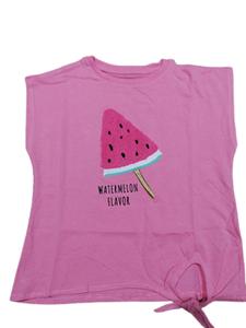 Zippy Παιδική Κοντομάνικη Μπλούζα Για Κορίτσι Watermelon, Φούξια