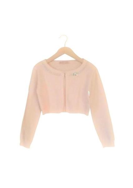 Εβίτα Fashion Μπολερό Πλεχτό, Ροζ
