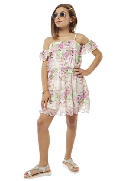Εβίτα Fashion Φόρεμα Ρομαντικό,Φλοράλ