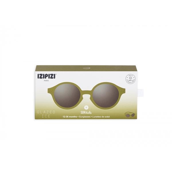 Picture of IZIPIZI Γυαλιά Ηλίου Sun Kids, 12-36M Olive Green
