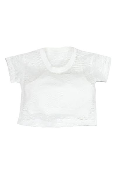 New College Διπλή Μπλούζα Με Δίχτυ Για Κορίτσι, Λευκό