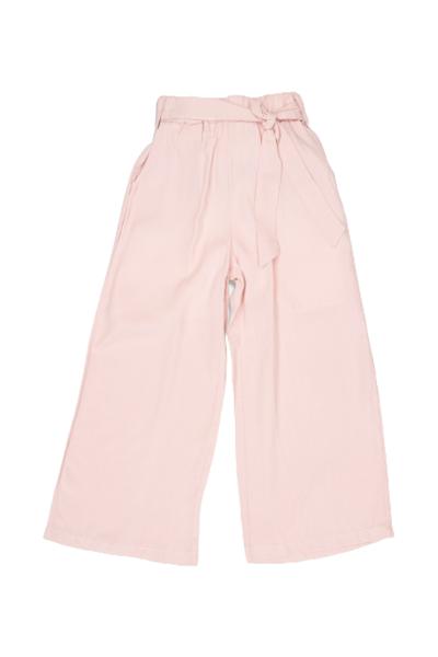 New College Παντελόνα Υφασμάτινη Για Κορίτσι, Σομόν