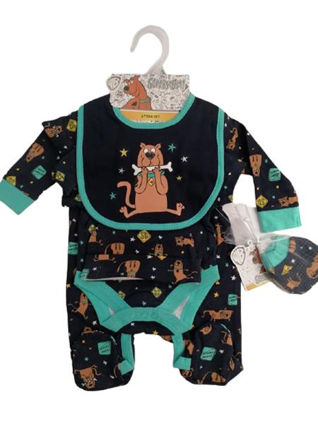Bonjour Bebe Φορμάκι 5 Τεμαχίων Scooby Doo, Μπλέ