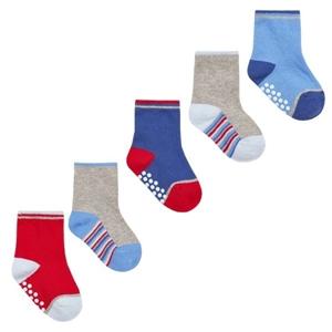 Soft Touch Bebe Σετ 5 Τεμαχίων Αντιολησθητικές Κάλτσες Για Αγόρια, Κόκκινο