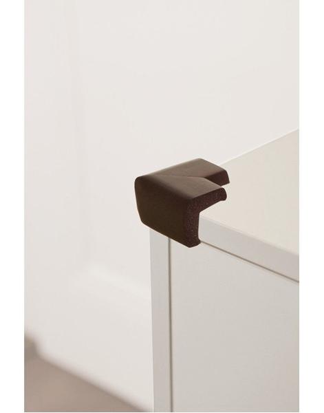 DreamBaby Προστατευτικό Γωνιών Foam 4 τμχ Brown