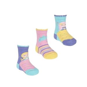 Soft Touch Bebe Σετ 3 Τεμαχίων Κάλτσες Για Κορίτσια, Γοργόνα