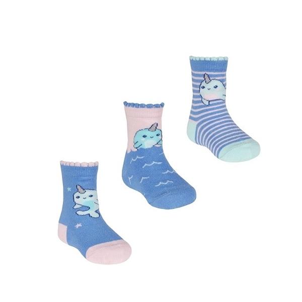 Soft Touch Bebe Σετ 3 Τεμαχίων Κάλτσες Για Κορίτσια, Μονόκερος