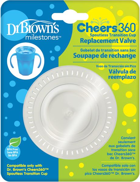 Dr.Brown's Ανταλλακτική Βαλβίδα Σιλικόνης για Κύπελο Cheers 360°