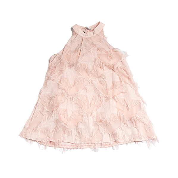Joyce Παιδικό Φόρεμα Τσάρλεστον, Σομόν