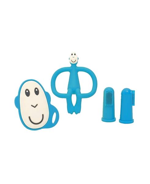 Matchstick Monkey Σετ Μασητικό Oδοντοφυΐας - Blue