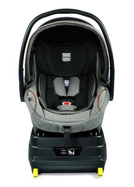 Peg Perego Κάθισμα Αυτοκινήτου Primo Viaggio I-Size + Βάση i-Size, City Grey