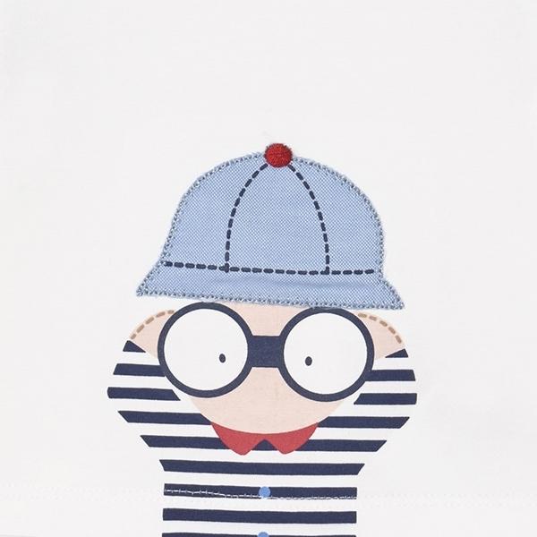 Mayoral Bebe Σετ 4 τεμαχίων Μακώ Σορτς Μπλούζα Για Νεογέννητο Αγόρι Camera, Κόκκινο