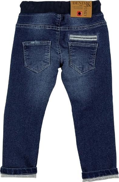 Funky Παιδικό Τζίν Παντελόνι Με Γύρω Λάστιχο Για Αγόρι, Τζίν