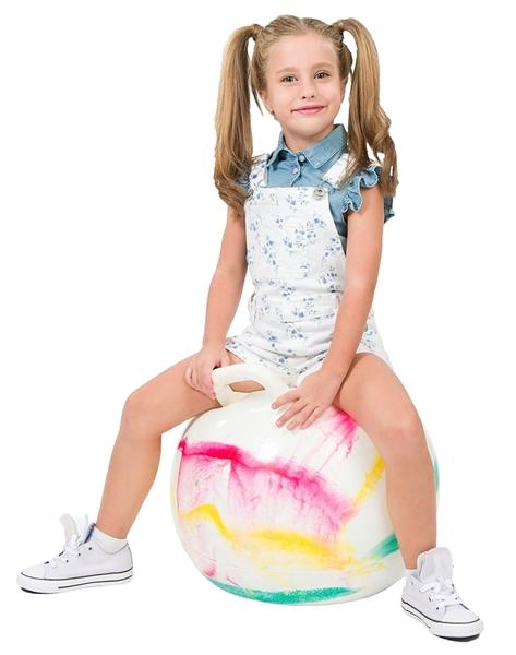 Energiers Παιδική Σαλοπέτα Για Κορίτσι Λουλούδια, Μπλέ
