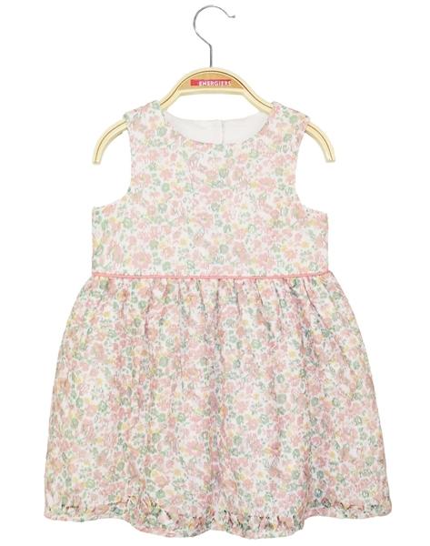 Energino Φόρεμα Φλοραλ Για Νεογέννητο Κορίτσι, Σομόν