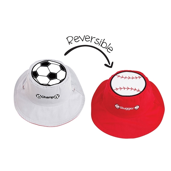 FlapJackKids Αντηλιακό Καπέλο Διπλής Όψης UPF 50+ Sports