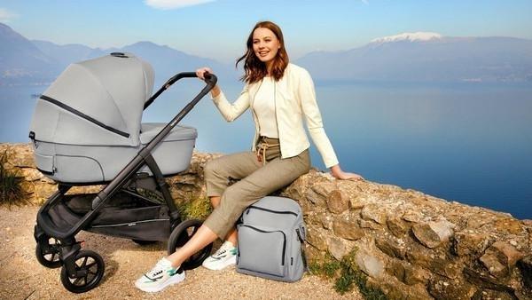 Inglesina Adventure Bag Aptica XT Τσάντα-Αλλαξιέρα Πλάτης Horizon Grey