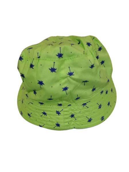 Chicco Bebe Καπέλο Safari Διπλής Όψεως Για Αγόρι Φοίνικες, Λαχανί