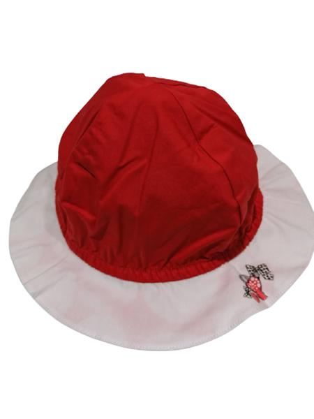 Chicco Bebe Καπέλο Διπλής Όψεως Για Κορίτσι, Κοκκινο
